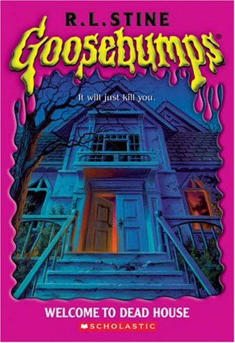 Goosebumps by r l stine for Classic haunted house novels