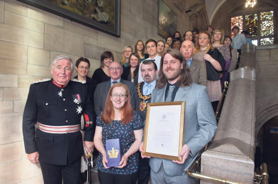Student Volunteer Group Receives Prestigious Queen's Award ...