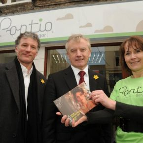 Pontio sets up shop in Bangor High Street