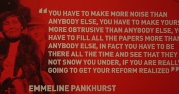 Emmeline Pankhurst on why speaking out is vital for reforms and liberation.