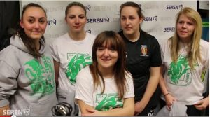 Varsity 2014 - Women's Football Interview