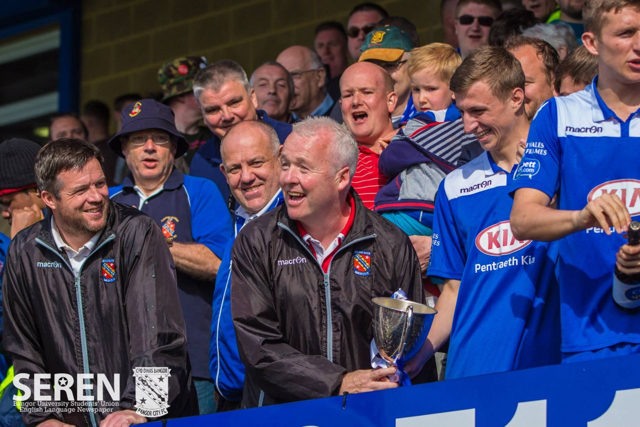 Interview: Nev Powell, Bangor City FC Manager