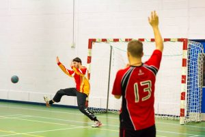Reid has been a key part of Bangor University Handball Club's success in recent years