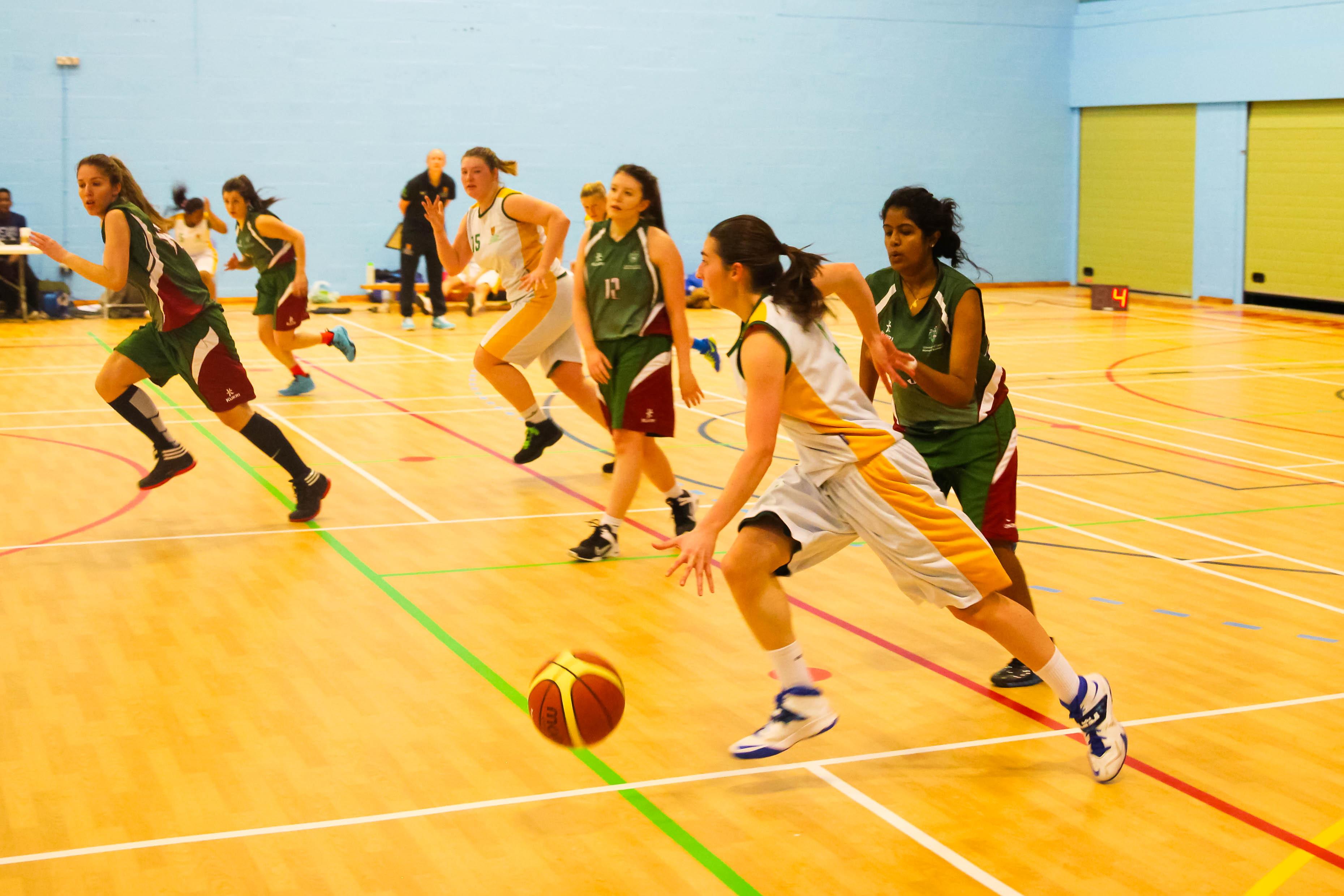 Women's Basketball crush University of Leeds to remain top ...