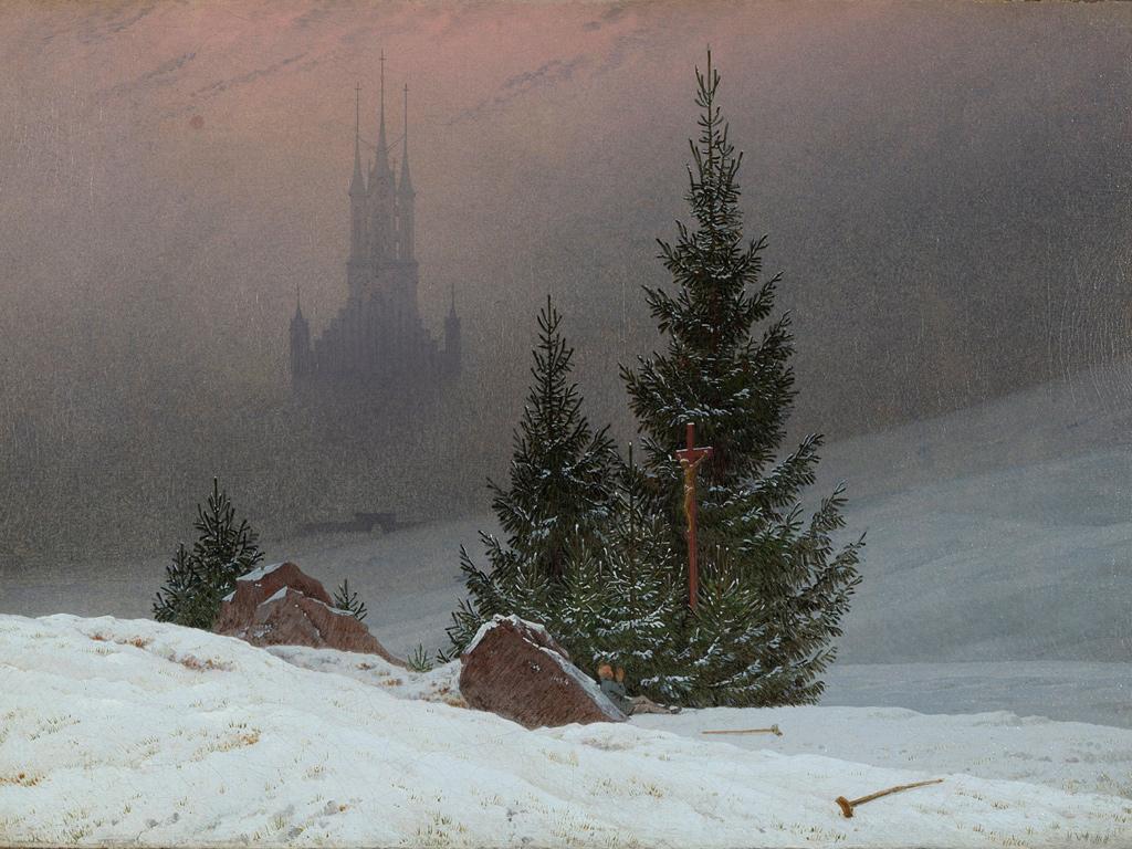 Caspar David Friedrich, 'Winter Landscape', 1811
