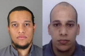 "Brothers Cherif and Said Kouachi, the masked gunmen, claimed they would die as ""martyrs"""