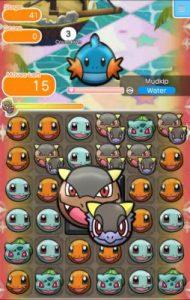 Pokemon Shuffle Mobile Screen Shot