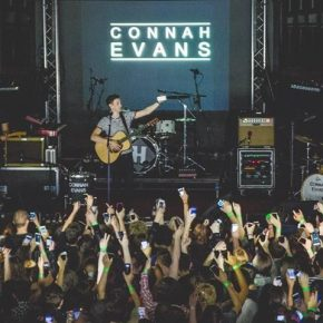 Exciting perspectives for local singer Connah Evans