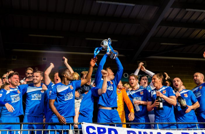 Bangor city win the Europa League Playoff