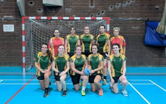 Battling Bangor Womens Handball Team Lose Out to Leeds