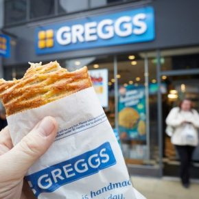 Greggs on Valentine's Day?