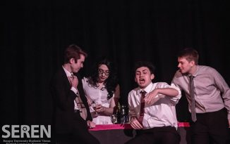 REVIEW: Shakers Re-Stirred: Rostra's First Show Of The Semester