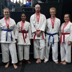 Karate Kicking Their Way To Glory