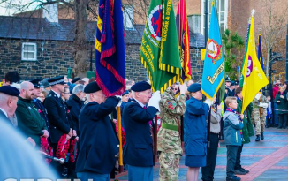 Bangor Remembrance Sunday Service and Parade