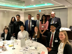 BBS Students Attend Business Leaders' Event In London