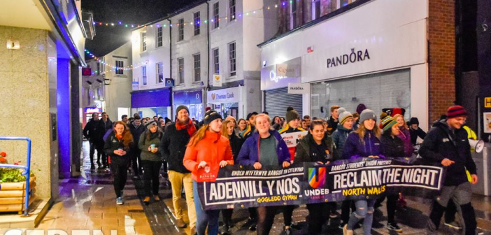 Bangor March To Reclaim The Night