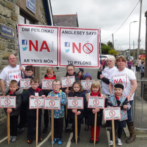 Anglesey Say 'No!' To National Grid Plans