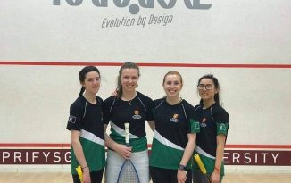 Ladie's Squash Valiant Effort