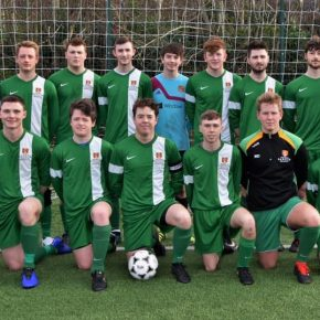 Men's Football: 2nd's Maintain Top Spot