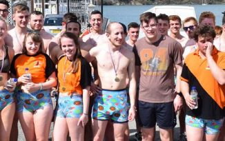 Bangor Students Ready For 'Runderpants' Mile