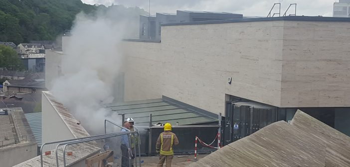 BREAKING: Fire Incident At Pontio