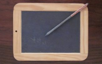 Writing slates – tablets of the 19th Century