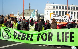 Extinction Rebellion called 'neo-fascist' by Welsh Conservatives after printing press blockade