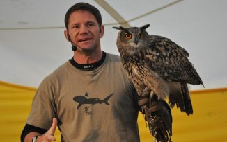 Steve Backshall to join the teaching team at Bangor University