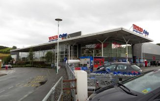 Anglesey man arrested for tearing down non-essential items barrier in Tesco